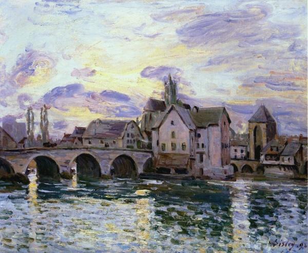 Лирические пейзажи Альфред Сислей (Alfred Sisley) (545 фото)