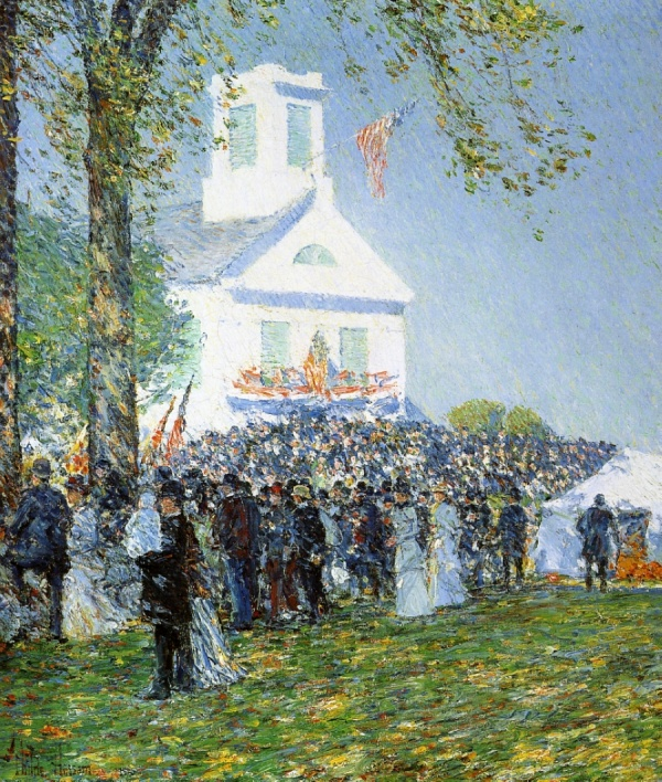 Художник Фредерик Чайльд Гассам (1859 – 1935) (1 часть) (470 фото)