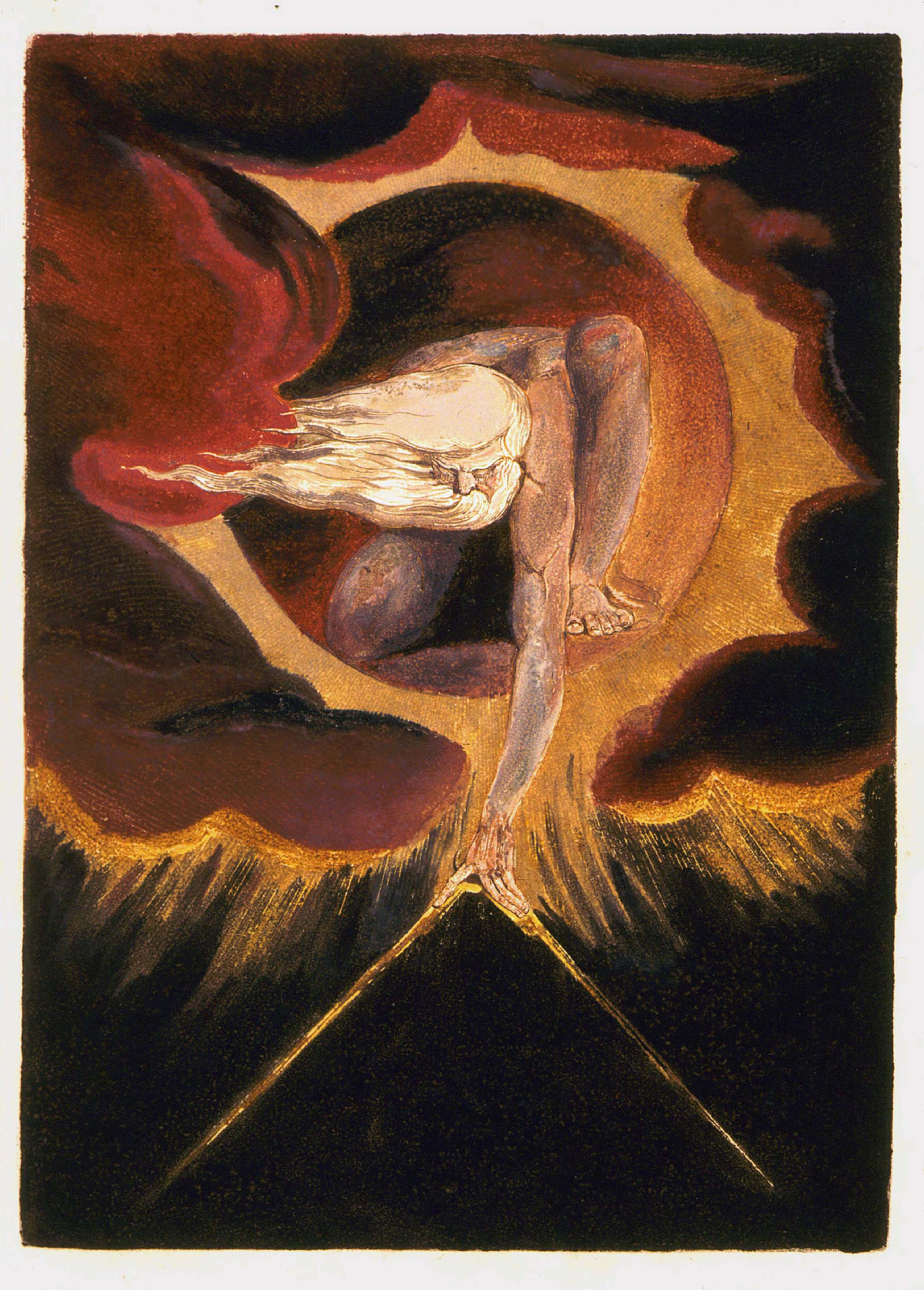 a biography of william blake a seminal figure in poetry and visual arts of the romantic age