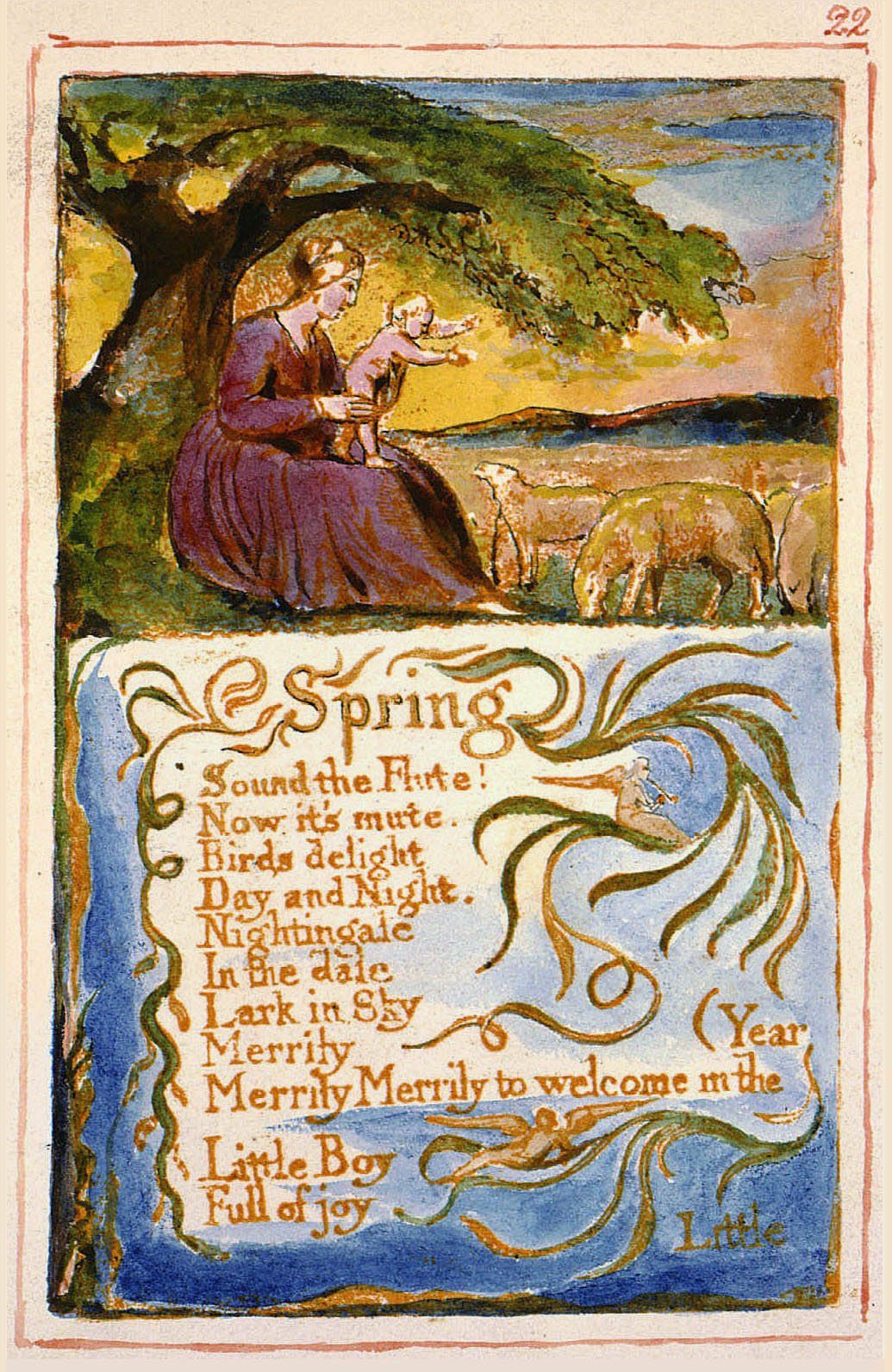 an analysis of a from songs of experience a poem by william blake