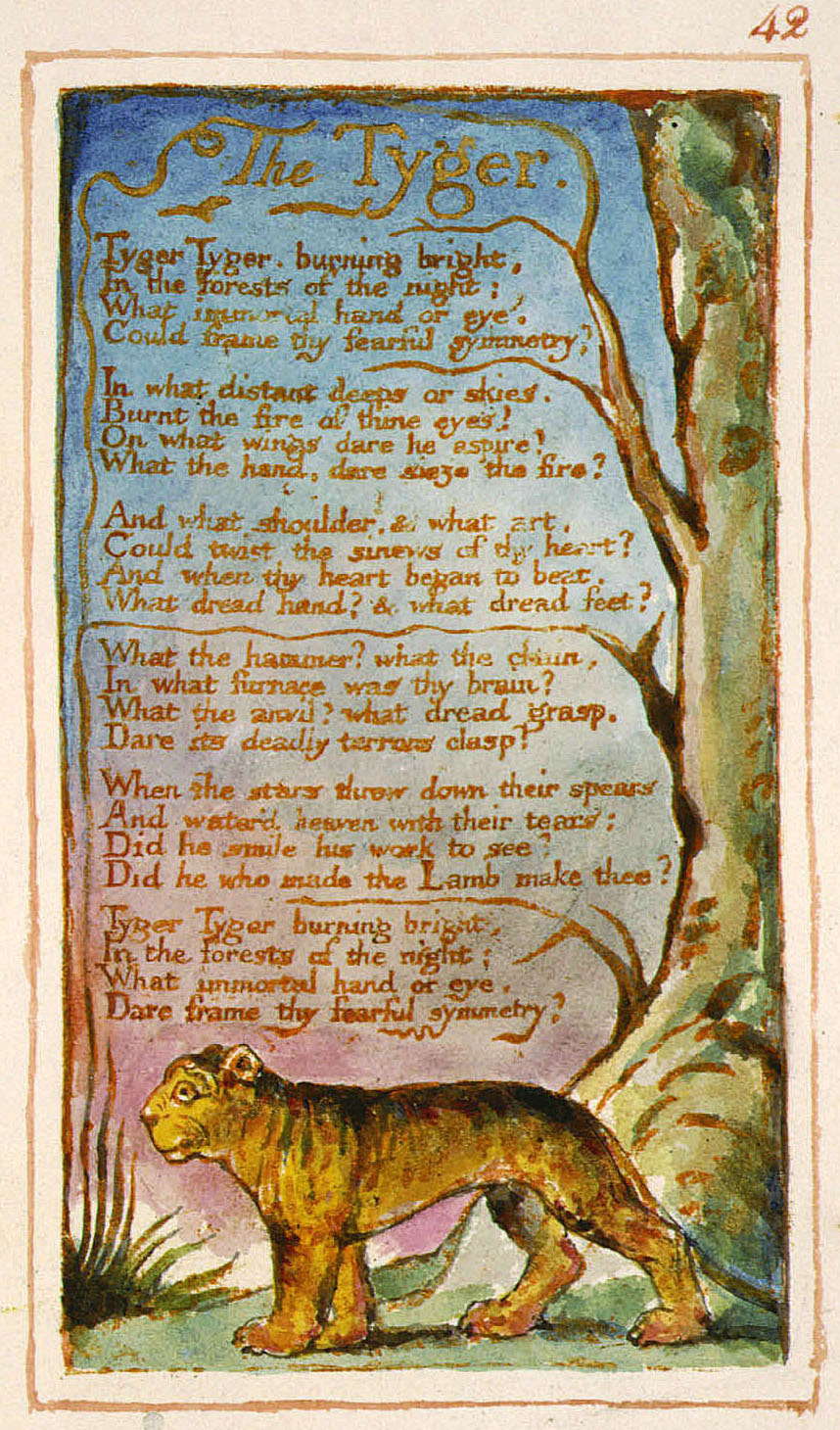 compare and contrast william blake and william wordsworth Looking closely at 'london' by william blake and 'composed upon westminster  bridge' by william wordsworth, compare and contrast the two.