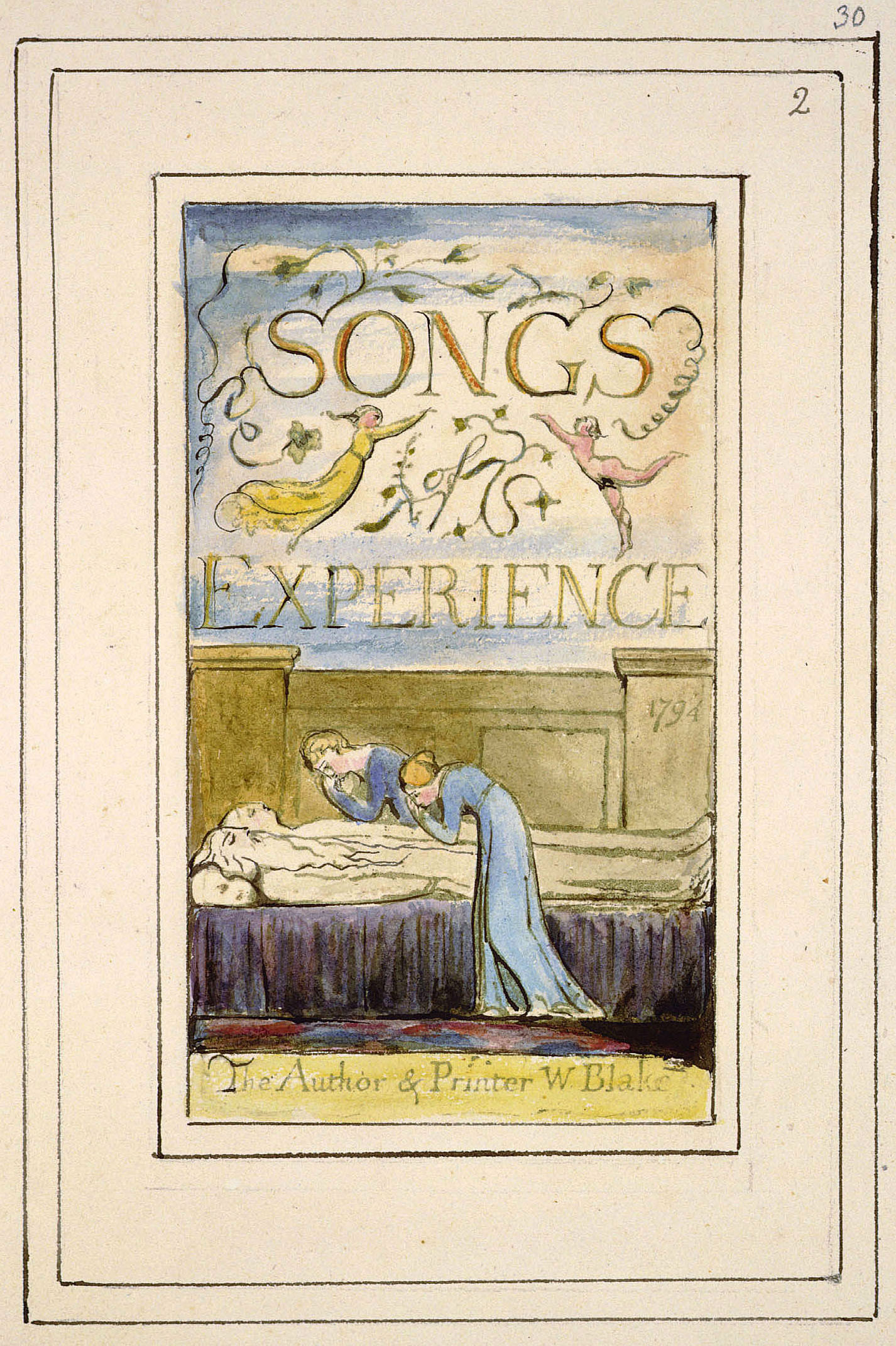 analysis of william blakes garden of Probably the most accessible poet of the romantic period, william blake the writer (he did a mean line in painting too) is best remembered today for his collections songs of innocence (1789) and songs.