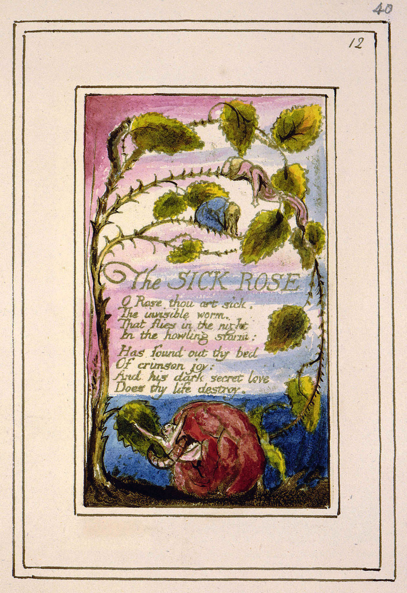 the sick rose by william blake The sick rose by william blake the sick rose learning guide by phd students from stanford, harvard, berkeley.