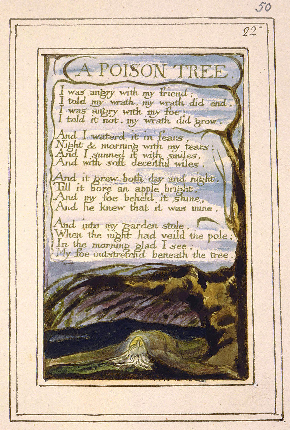 a literary analysis of songs of experience by blake As with many of the poems in blake's brilliant songs of innocence and experience, there are two poems entitled nurse's song, which although they possess similarities, are very different in terms.
