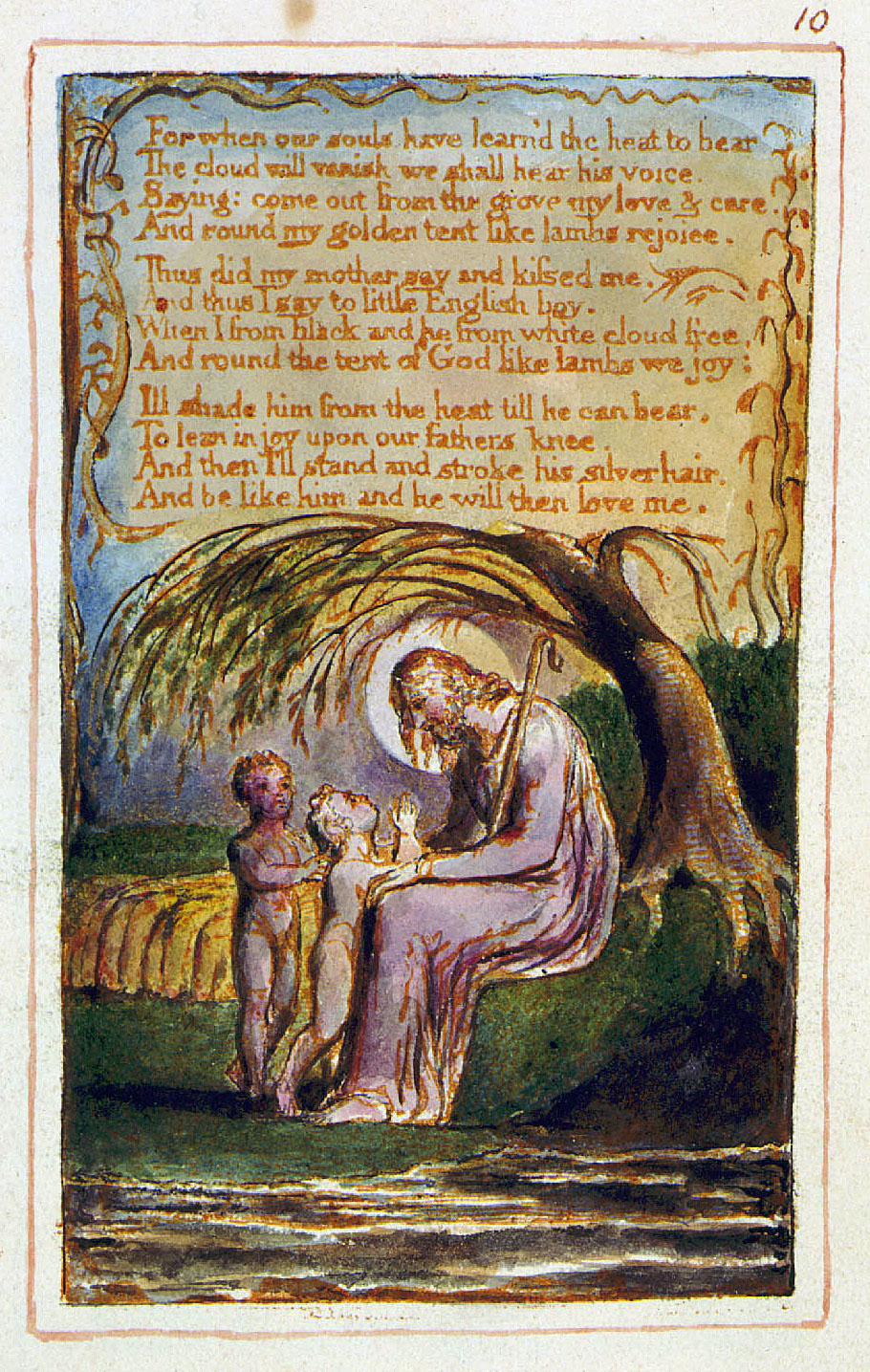 william blakes nurses song English romantics and nature blake, wordsworth  / nurse's song (songs of experience) william blake did not worship nature, nor was he a conservationist.