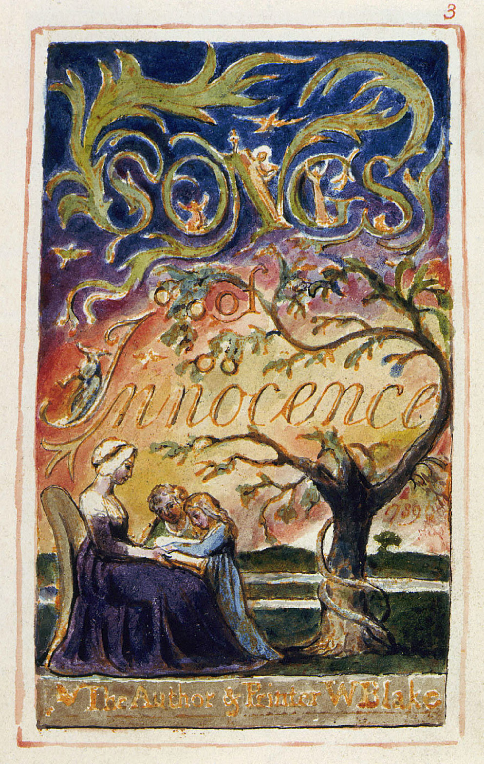 innocence and experience 3 essay Songs of innocence and experience by william blake searchable etext discuss with other readers.