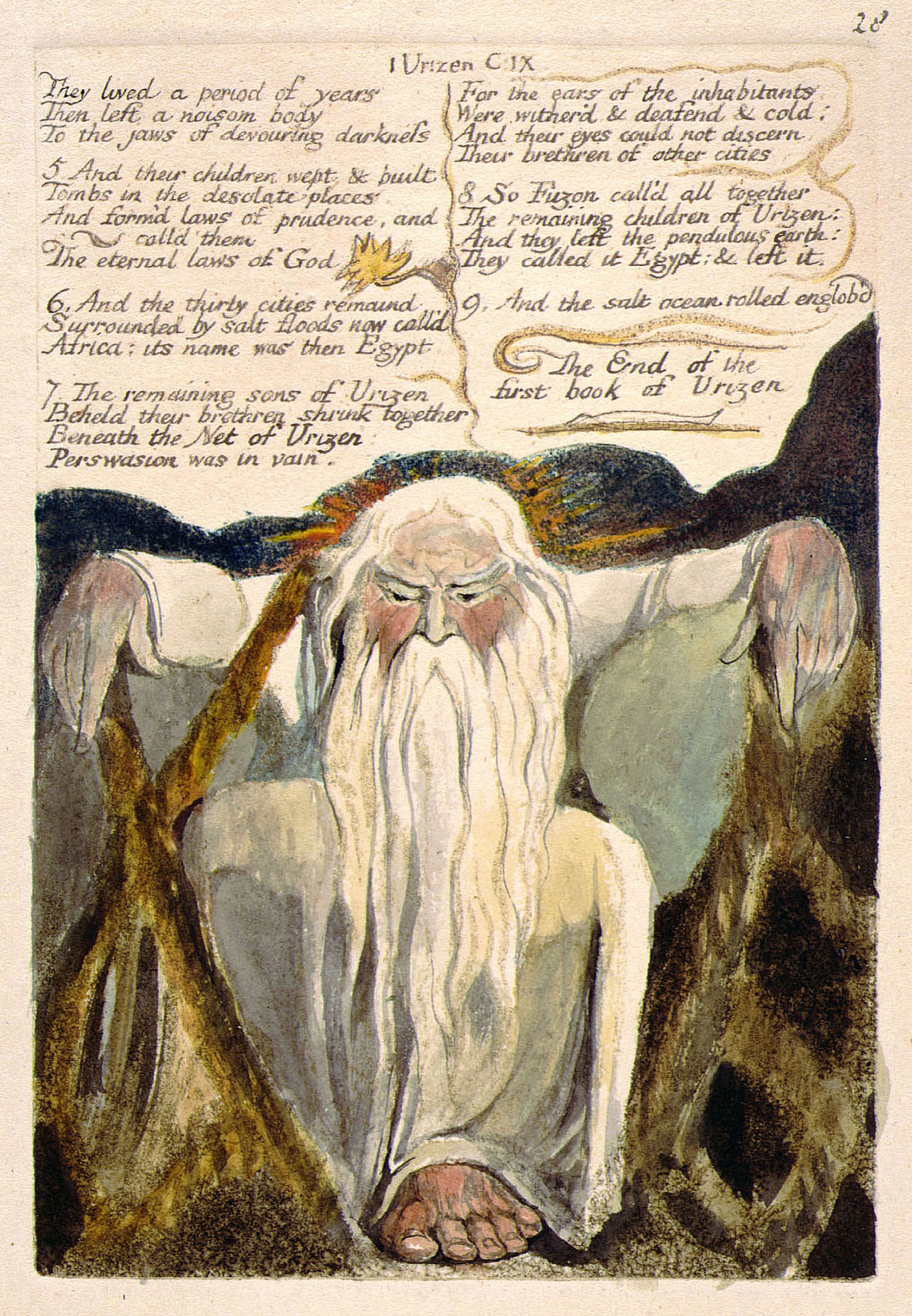 critical essay on william blake