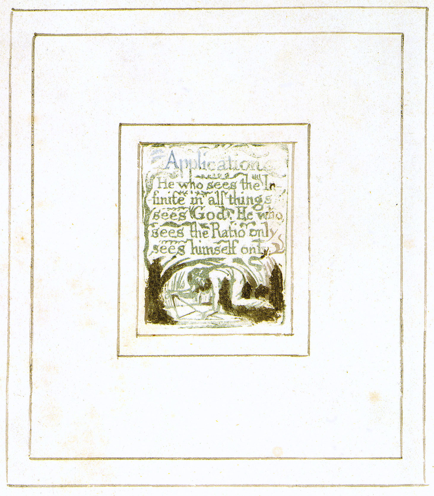 william blake there is no natural religion