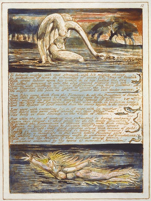 Иллюстрации William Blake (1757-1827) (85 фото)