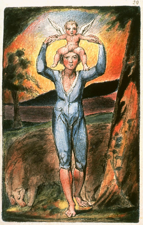 an analysis of songs of innocence by william blake