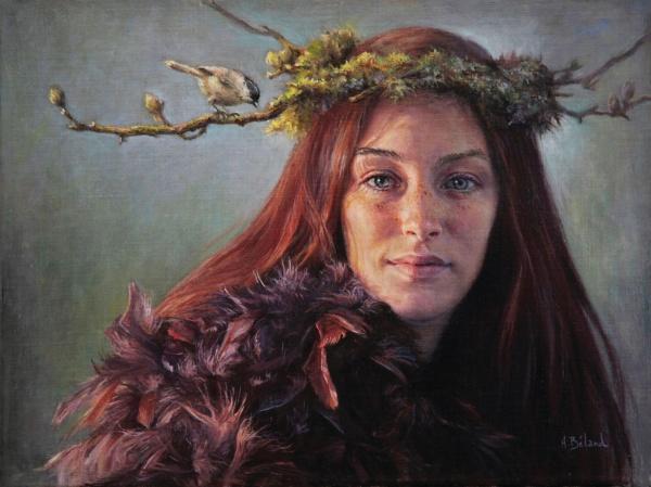 Канадская художница Helene Beland (43 фото)