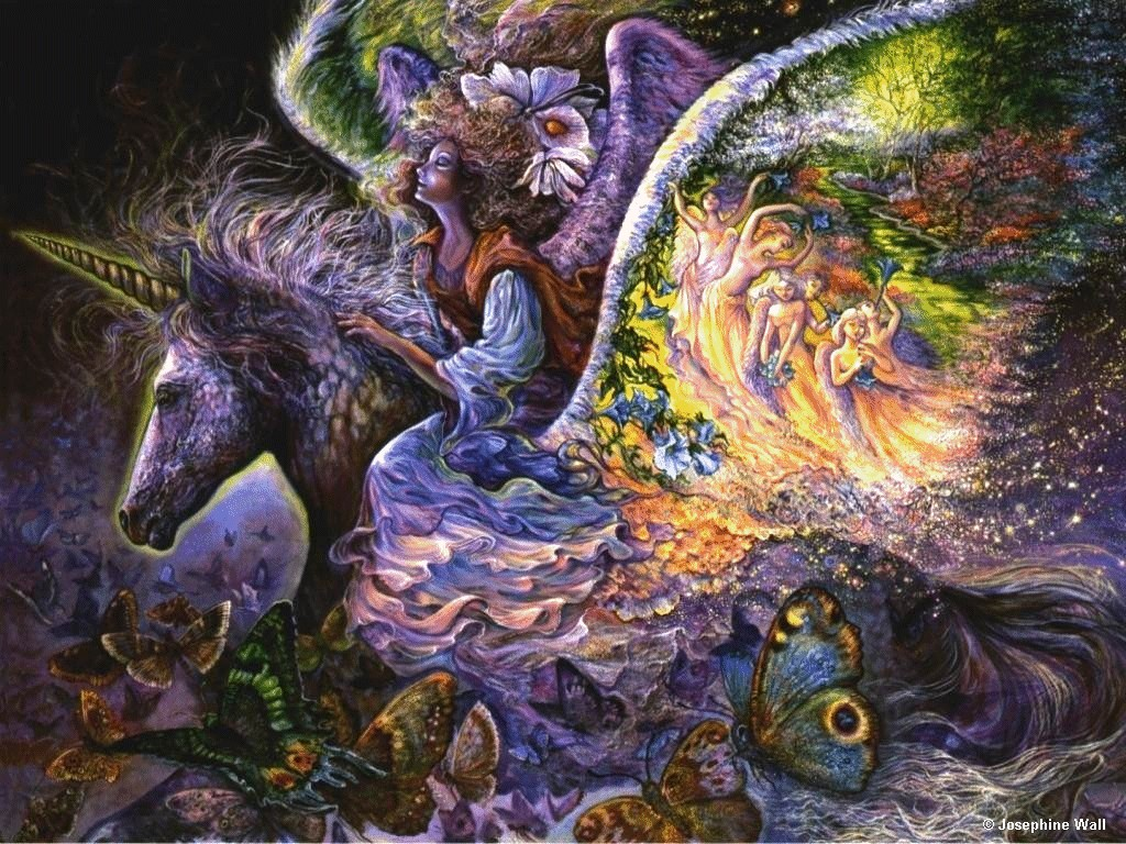 картины английской художницы жозефины уолл