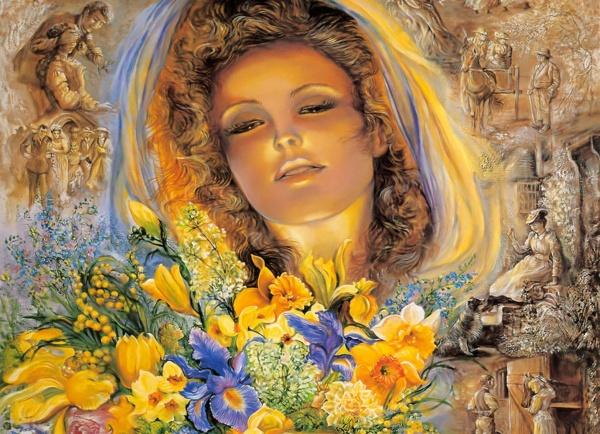 Современное искусство Josephine Wall (315 фото)