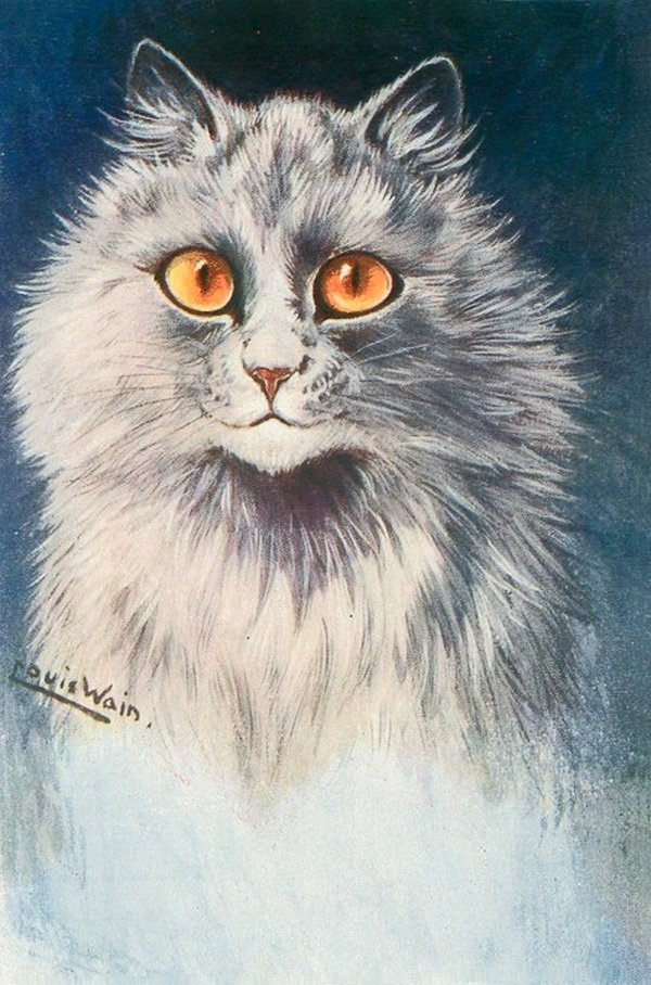 Английский художник Louis William Wain (1860-1939) (30 фото)