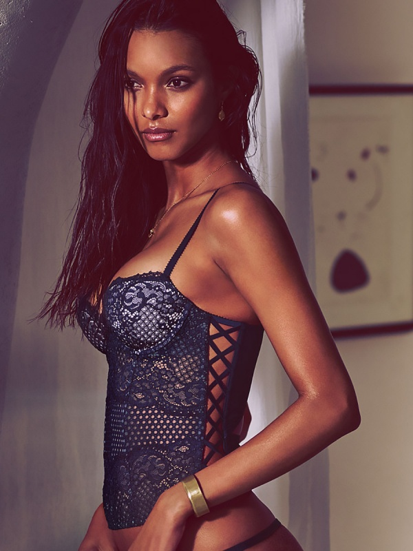 Lais Ribeiro - Victoria's Secret Photoshoot 2015 Set 4 (76 фото)