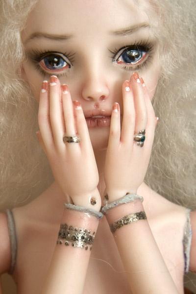 Современное искусство. Фарфоровые куклы (Марина Бычкова) (279 фото)