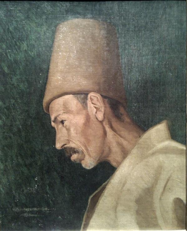Художник Осман Хамди Бея - Osman Hamdi Bey