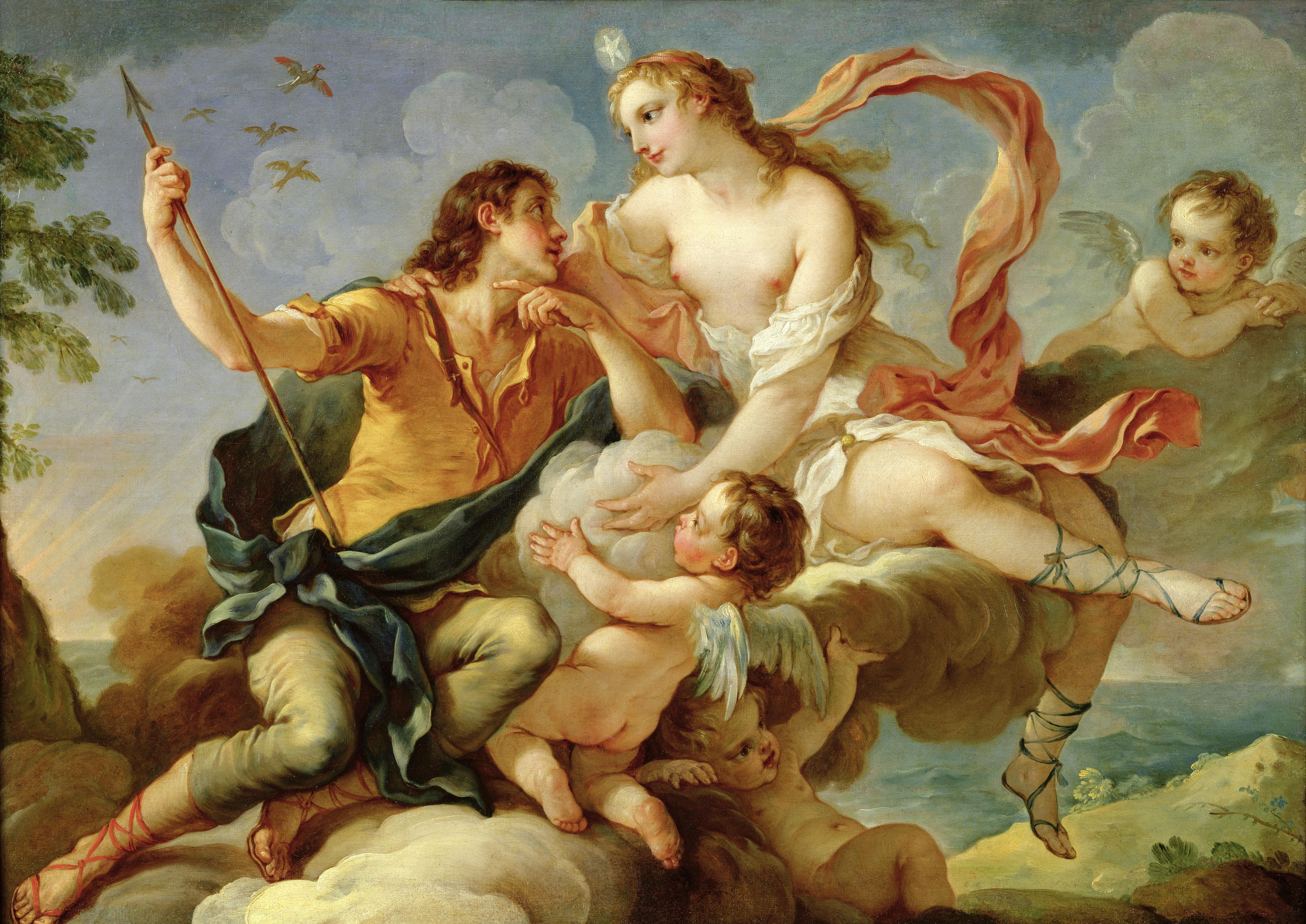 aphrodite goddess painting - HD5470×3870