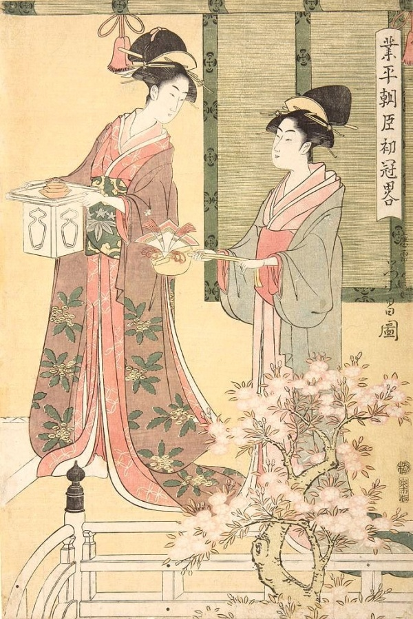 Японская гравюра укиё-э. Тёкосай Эйсё (82 фото)