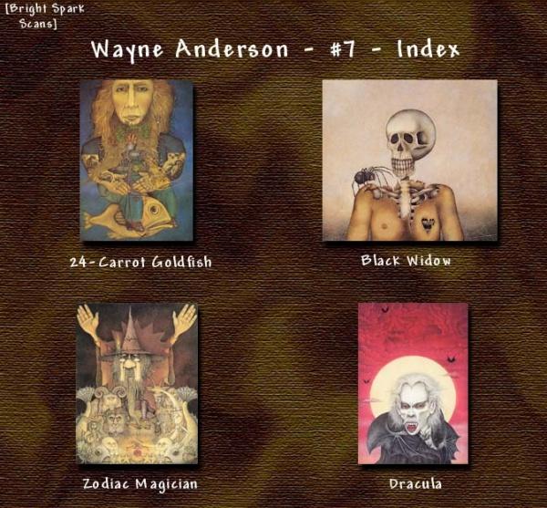Вэйн Андерсон | Wayne Anderson (268 фото)