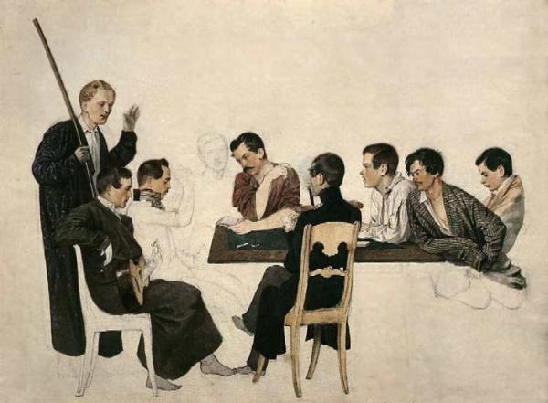 Русские художники (часть 8) (612 фото)