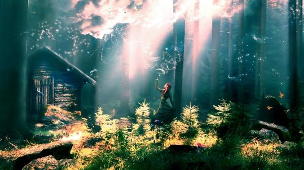 Волшебницы и феи (56 фото)