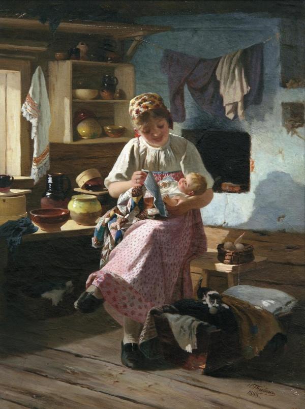 Живопись картины русских художников (194 фото) (1 часть)