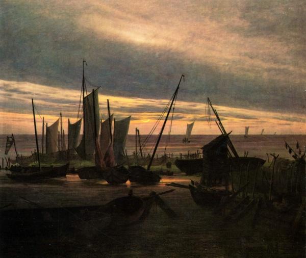 Картины. Каспар Давид Фридрих (Caspar David Friedrich) (1 часть)