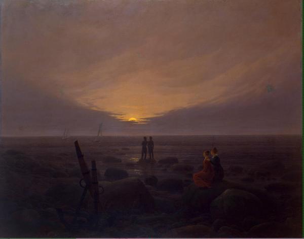 Картины. Каспар Давид Фридрих (Caspar David Friedrich) (2 часть)