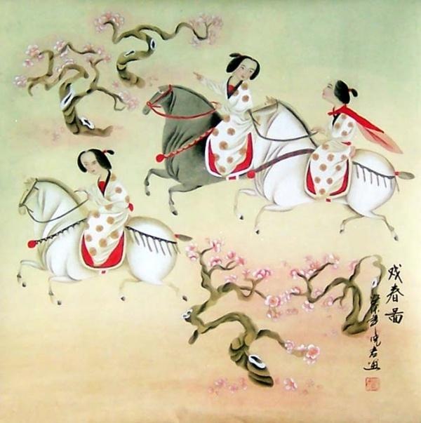Современная китайская акварель (200 работ)