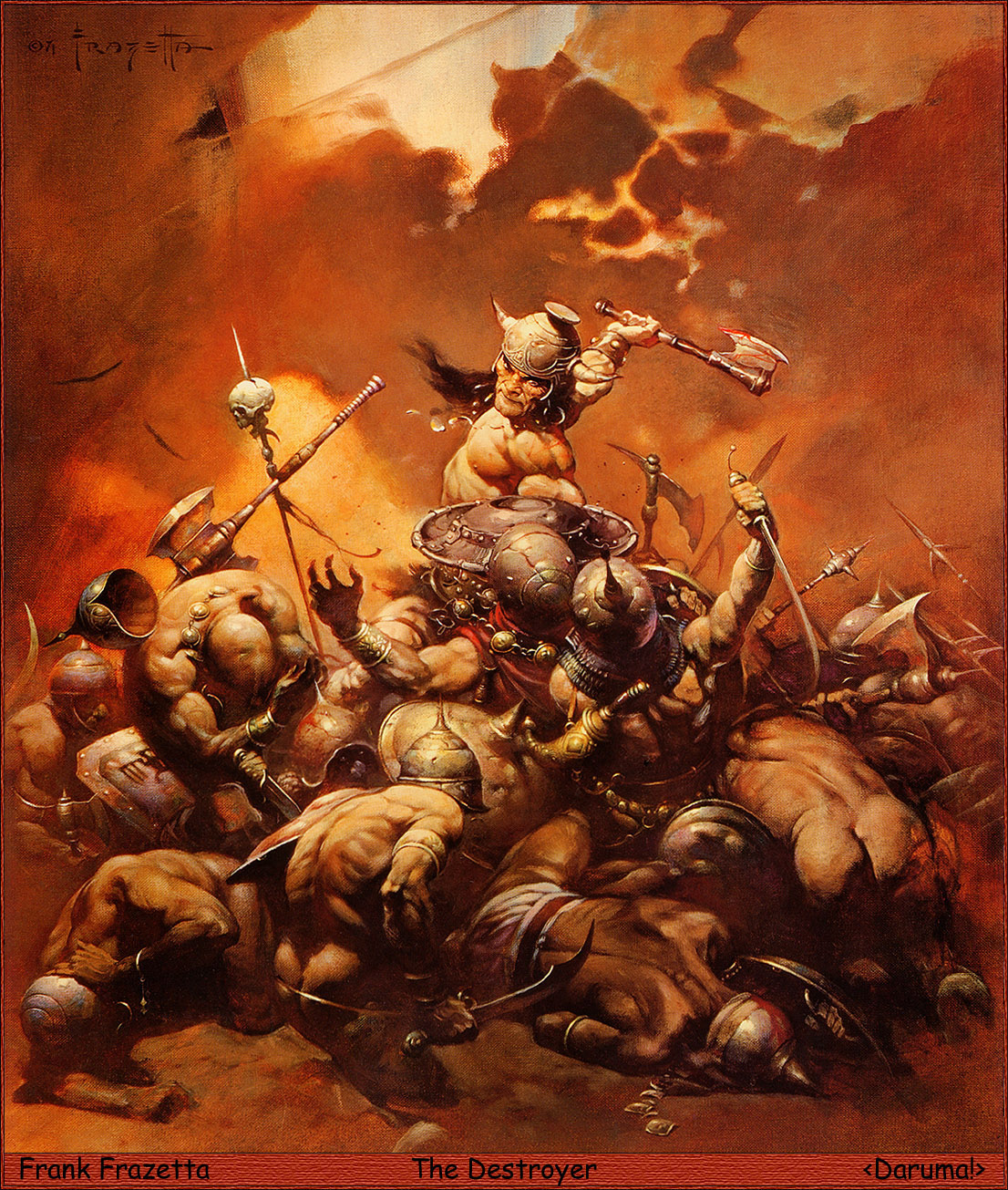 the memories of frankish crusader barbarians