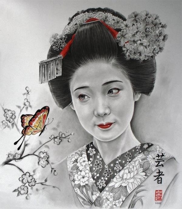 Коллекция работ американской художницы Michelle Seo – Hongmin (61 фото)