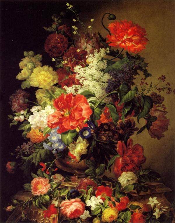 Австрийский художник Joseph Nigg (1782 -1863)