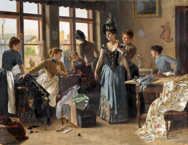 Австрийский художник Moritz Stifter (Austrian, 1857–1905)