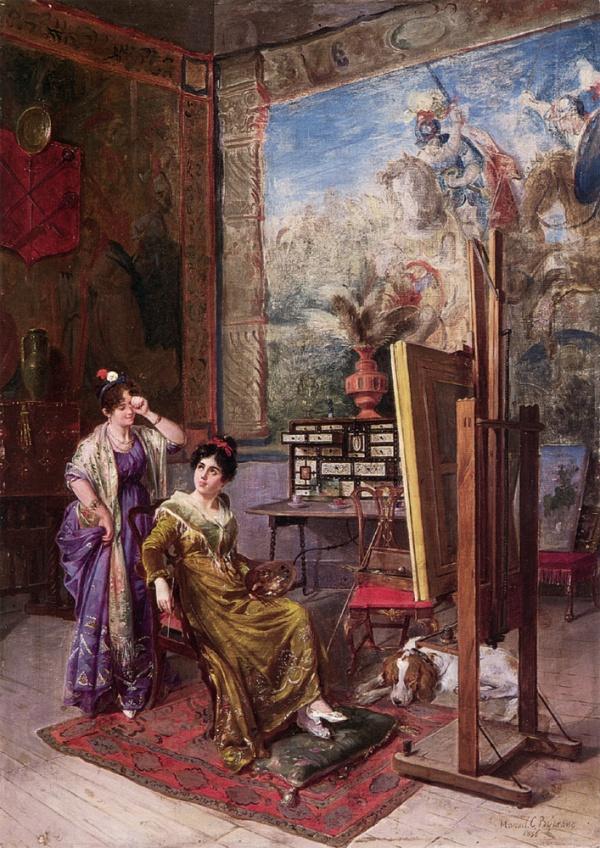Испанская живопись | The Spanish painting (266 фото)