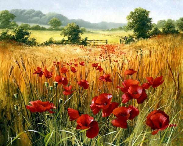Цветы художницы Mary Dipnall (72 фото)