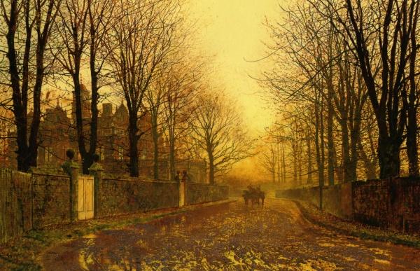 Работы John Atkinson Grimshaw (146 фото)