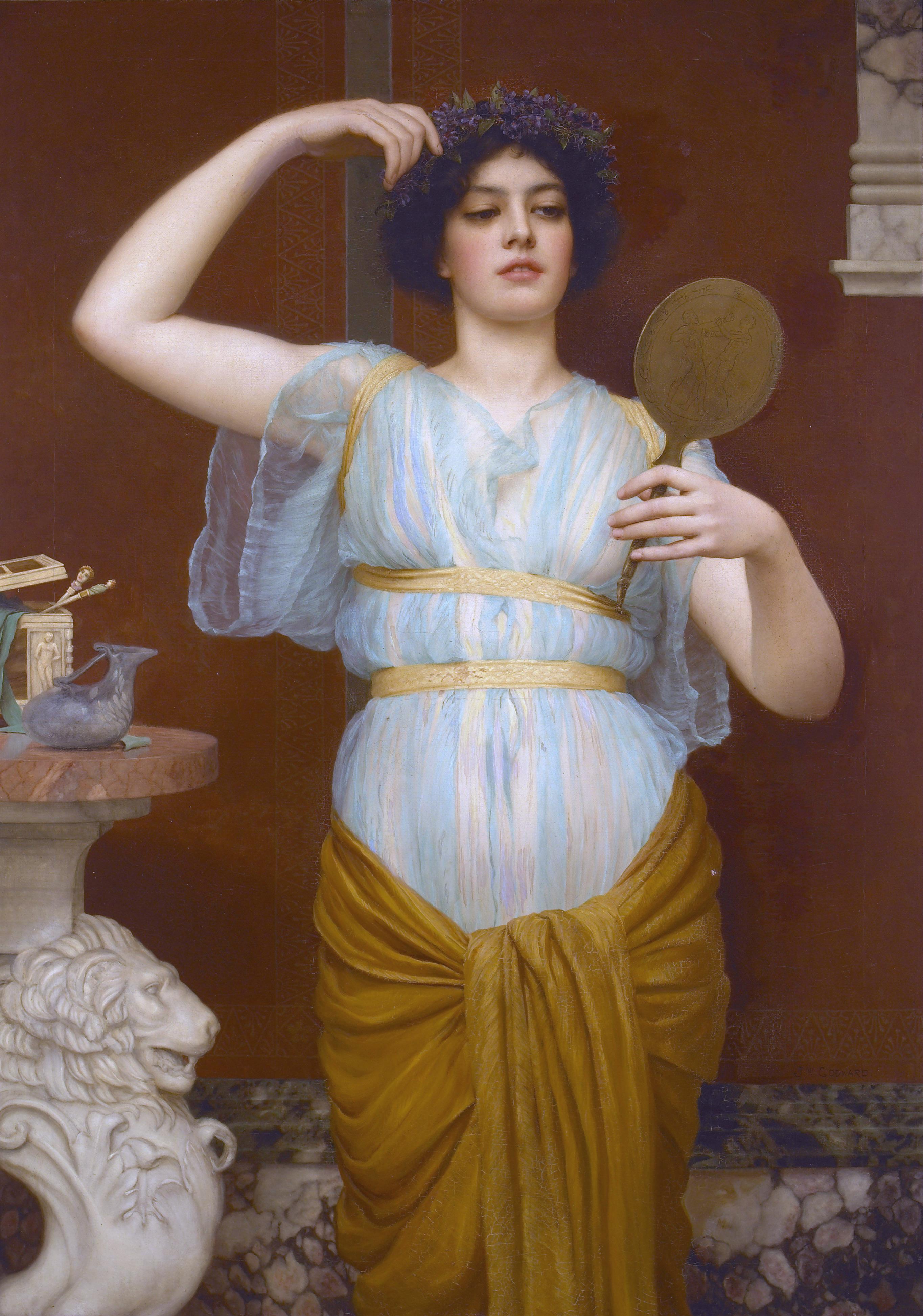 Как превратить фото в картину античности