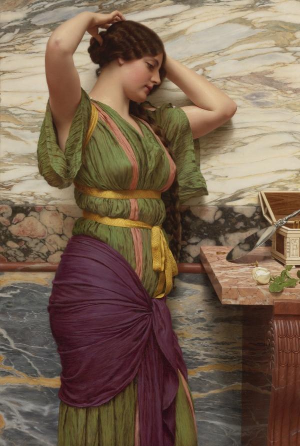Английская живопись Джон Уильям Годвард (John William Godward) (133 фото)