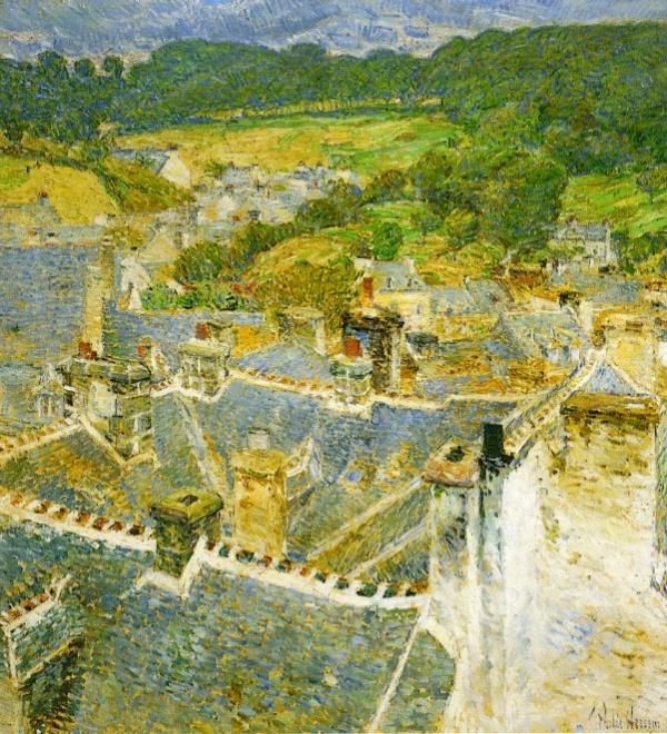 Американский художник - импрессионист Фредерик Чайльд Гассам (237 фото) (1 часть)