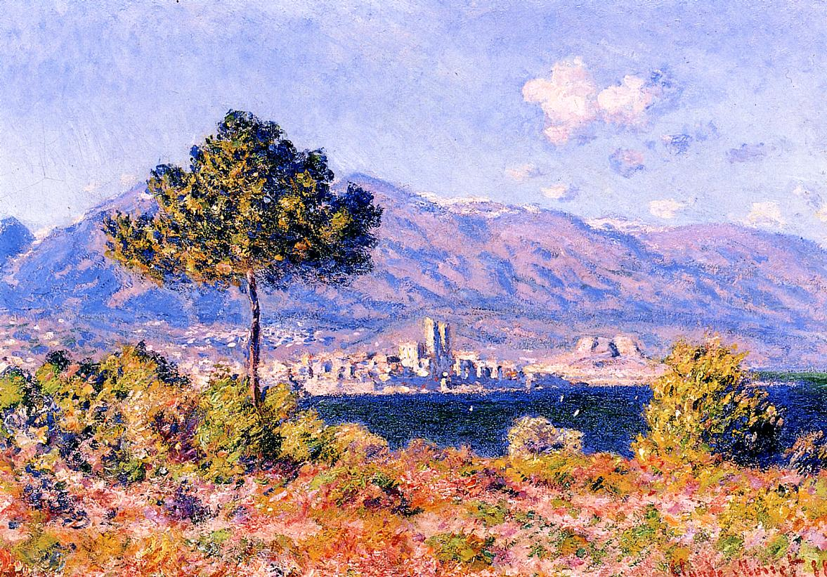 the art career of claude monet and his role in the rebirth of art in italy