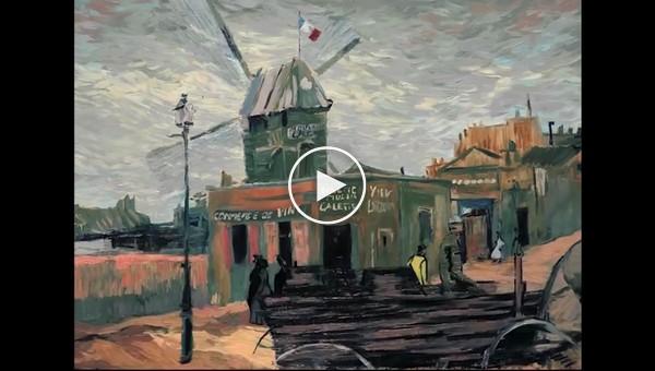 Трейлер первого в истории полностью нарисованного художниками полнометражного фильма о жизни Винсента Ван Гога