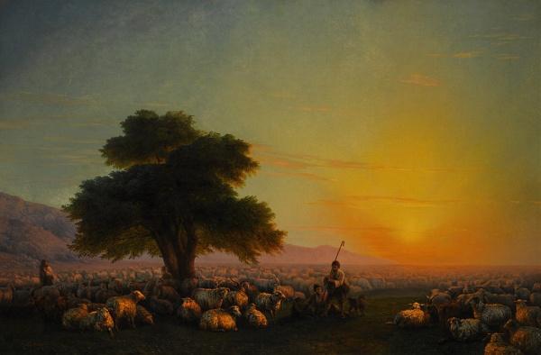 Работы живописи Айвазовский Иван Константинович (Aivazovsky I.K.) (2 часть)