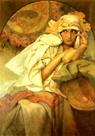 Картины художника Альфонс Мариа Муха (Alphonse Mucha) (167 фото)