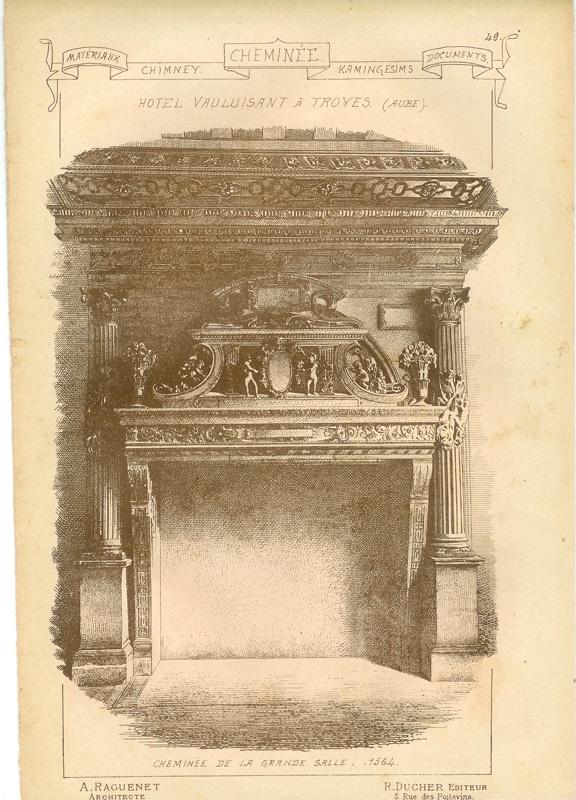 Архитектурные элементы в старинных гравюрах (2 часть) (278 фото)