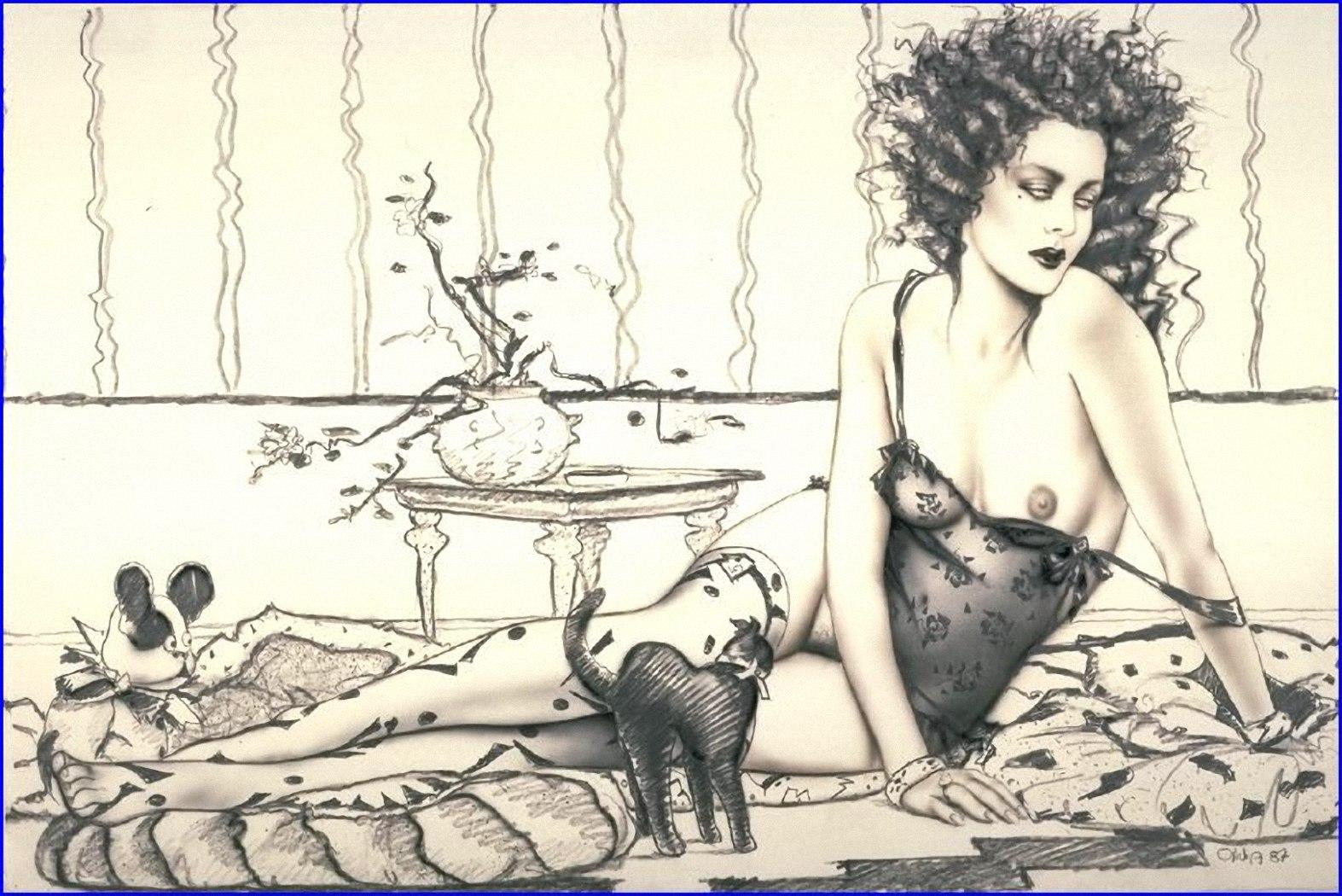 Смотреть бесплатно рисованная эротика 9 фотография