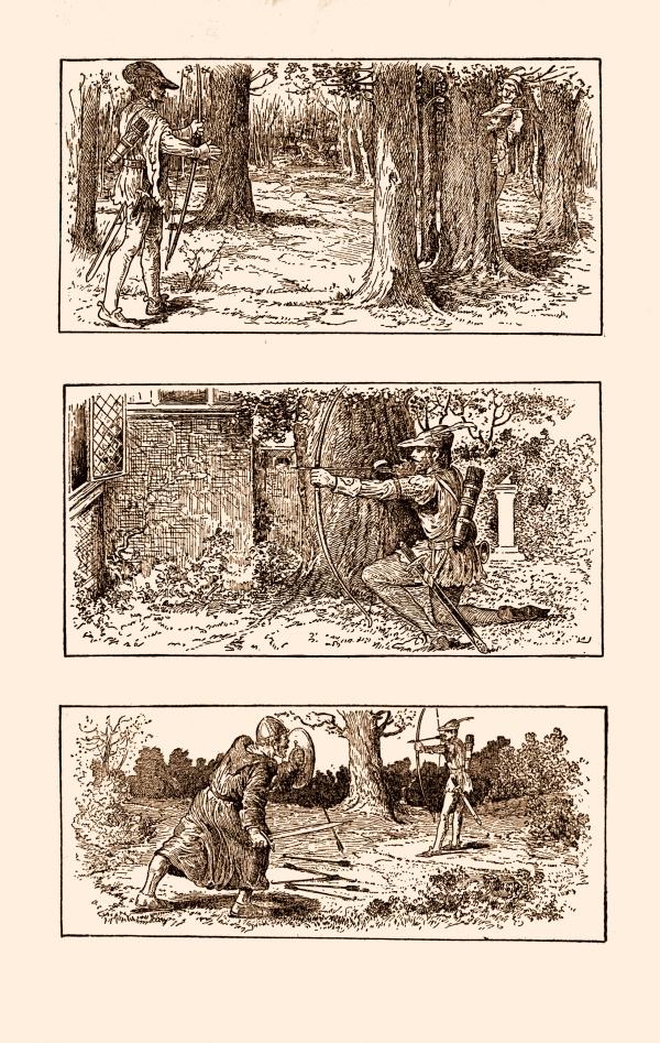 Храбрый Робин Гуд и его бандформирование (29 фото) (2 часть)