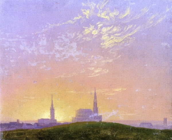 Работы художника Каспар Давид Фридрих (Caspar David Friedrich) (1 часть) (253 работ)