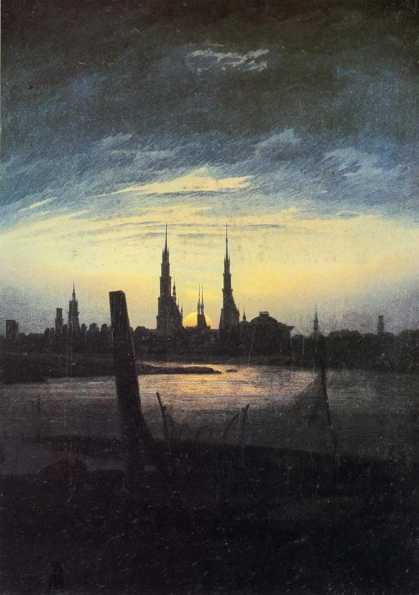 Работы художника Каспар Давид Фридрих (Caspar David Friedrich) (2 часть) (253 работ)