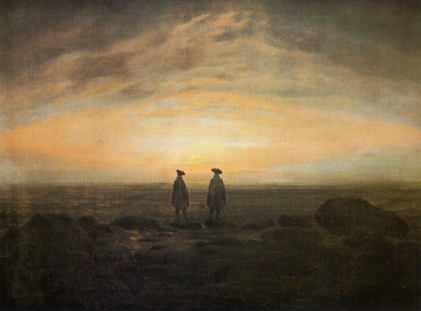 an analysis of five paintings of romanticism three by caspar david friedrich and two by joseph mallo Two men contemplating the greatest romantic paintings works of romanticism hang in many of the best art museums caspar david friedrich (1774-1840.